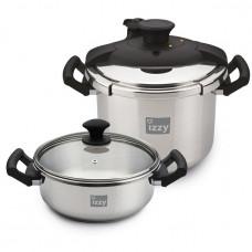 IZZY Cookware (213106) Σετ μαγειρικών σκευών Inox