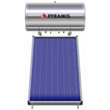 PYRAMIS (026000307) 160Lt / 2m² Επιλεκτικού συλλέκτη Διπλής Ενέργειας Ηλιακός Θερμοσίφωνας