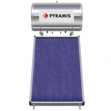 PYRAMIS (026002301) 160Lt / 2.3m² Επιλεκτικού συλλέκτη Διπλής Ενέργειας Ηλιακός Θερμοσίφωνας