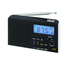 AKAI AWBR-305 Φορητό Ραδιόφωνο Black