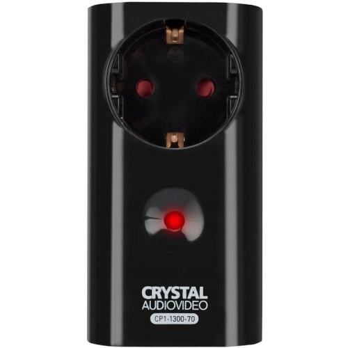 CRYSTAL AUDIO CP1-1300-70 Μονόπριζο Ασφαλείας Black