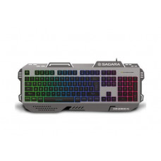 ZEROGROUND KB-2300G Sagara Gaming Πληκτρολόγιο Grey