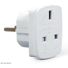 CABLEXPERT A-AC-UKEU-001 Power Adapter UK to EU White