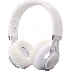 CRYSTAL AUDIO BT-01-WH Bluetooth Ακουστικά White