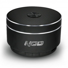 NOD Round-Sound Φορητό Bluetooth Ηχείο Black