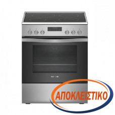 PITSOS PHS239250 Ηλεκτρική κουζίνα Inox