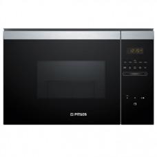 PITSOS PG30W75X0 Εντοιχιζόμενος Φούρνος μικροκυμάτων Black