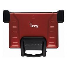 IZZY Family Grill Ceramic Τοστιέρα Red