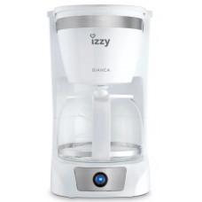 IZZY C108S BIANCA Καφετιέρα φίλτρου/Γαλλικού
