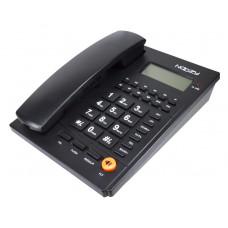 NOOZY N37 Σταθερό Τηλέφωνο Black
