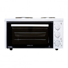 DAVOLINE EC 400 Chef Ηλεκτρικό Φουρνάκι White