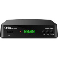 OSIO OST-2660D Αποκωδικοποιητής Black