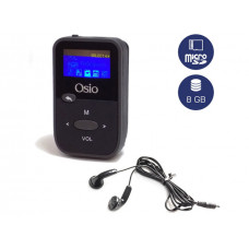 OSIO SRM-7880BG Mp3-Mp4 Player Black