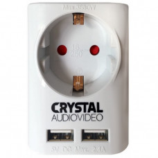 CRYSTAL AUDIO SU-1 Μονόπριζο White