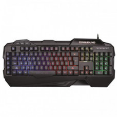 ZEROGROUND KB-2500G Hanzo v2.0 Gaming Πληκτρολόγιο Black
