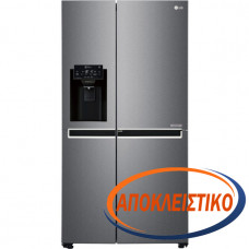 LG GSJ470DIDV Ψυγείο Ντουλάπα Inox