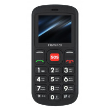 FLAMEFOX Care1 Κινητό Τηλέφωνο Black