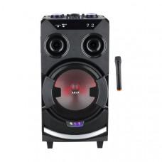 AKAI ABTS-112 Bluetooth Ηχείο/Καραόκε Black