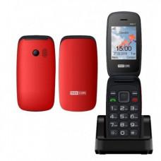 MAXCOM MM817 Κινητό Τηλέφωνο Red/Black