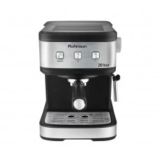 ROHNSON R-987 Μηχανή Espresso Inox/Black
