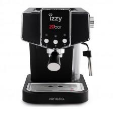 IZZY IZ-6001 Venezia Μηχανή Espresso Black