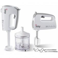 IZZY IZ-1001 Μίξερ χειρός White