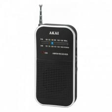 AKAI APR-350 Φορητό Ραδιόφωνο Black