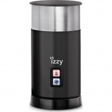 IZZY ΙΖ-6200 Latteccino Συσκευή για αφρόγαλα Black/Inox