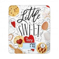 IZZY Sweet IZ-7007 Ζυγαριά κουζίνας White