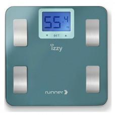 IZZY  IZ-7003 RUNNER (223664) Ζυγαριά Μπάνιου Blue