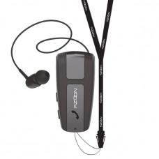 NOOZY ROLLER BH68 V.5.0 με δόνηση και strap λαιμού ΜΑΥΡΟ Bluetooth Handsfree