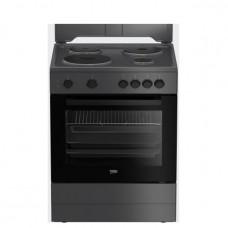 BEKO FSM 66002 GA Ηλεκτρική Κουζίνα Black