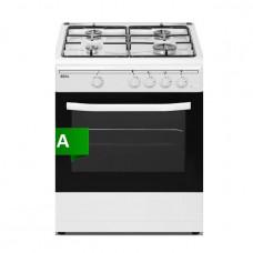 IDEAL IDCG 6400W Κουζίνα Αερίου White