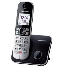 PANASONIC KX-TG6851JTB Ασύρματο Τηλέφωνο Black/Silver