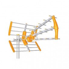 UHF Τριπλή Εξωτερική Κεραία 15db Orange