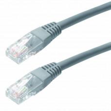 Καλώδιο Δικτύου Jasper Cat 5 UTP 1m Grey