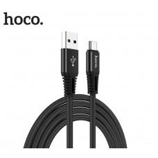 Hoco X22 USB σε Type-C Fast Charging 5.0A Μαύρο 1,0 μ