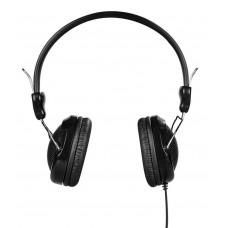 Hoco W5 Μαύρα 3.5mm ενσωματωμένο μικρόφωνο ακουστικά Stereo