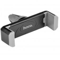 Hoco CPH01 Βάση Στήριξης Αεραγωγού Αυτοκινήτου Μαύρη-Γκρι