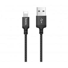 HOCO X14 Καλώδιο USB σε Lightning 1m Black