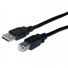 JASPER USB A Αρσενικό B Αρσενικό 1.8m Καλώδιο Σύνδεσης Black