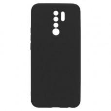 Θήκη Σιλικόνης Soft Back Cover για Xiaomi Redmi 9 Black