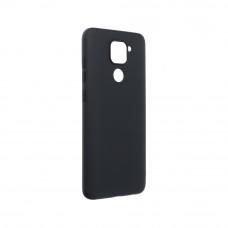 Θήκη Σιλικόνης Soft Back Cover για Xiaomi Redmi Note 9 Black