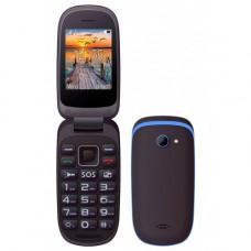 MAXCOM MM818 Κινητό Τηλέφωνο Black/Blue