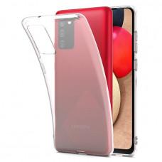 Θήκη Σιλικόνης για Samsung Galaxy A02S Διάφανη