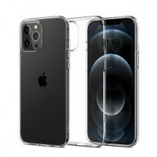 Θήκη Σιλικόνης για Apple iPhone 12/12 Pro Διάφανη